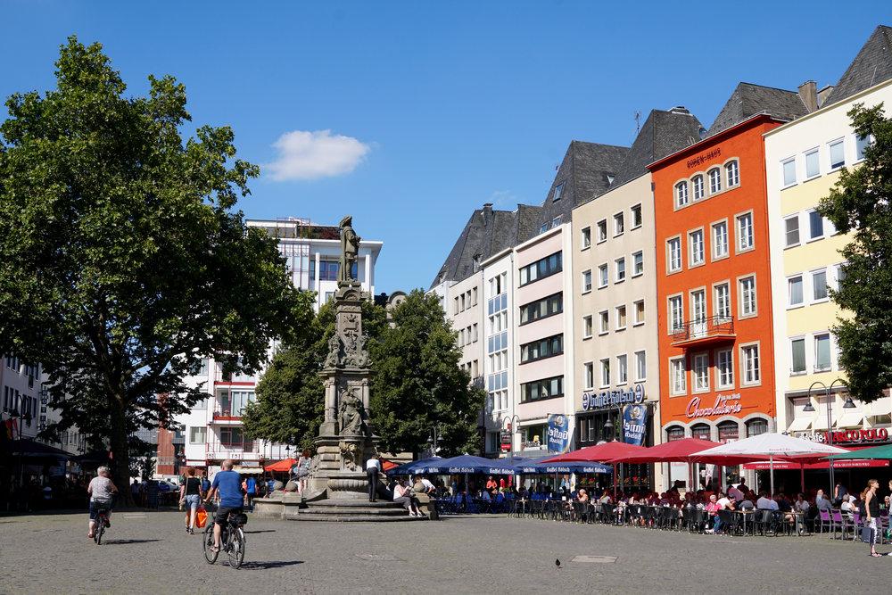 Cologne town square