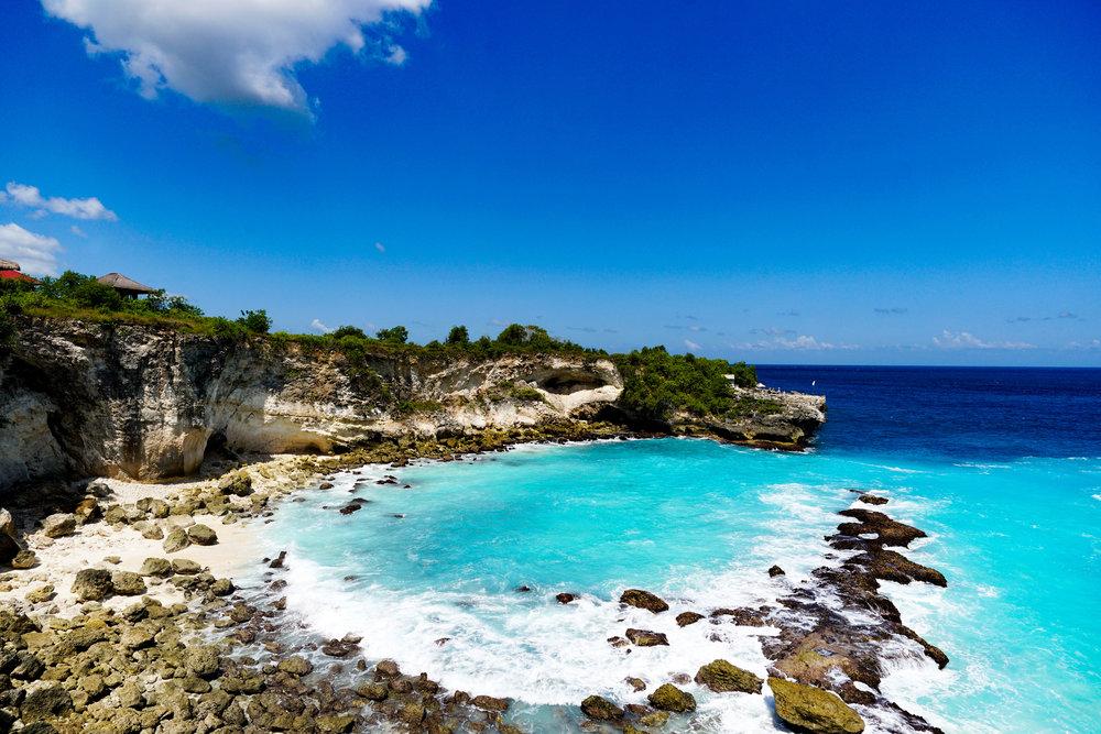 5. Blue Lagoon at Nusa Ceningan