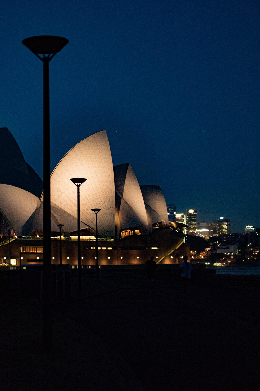 3. Sydney Opera House at Night