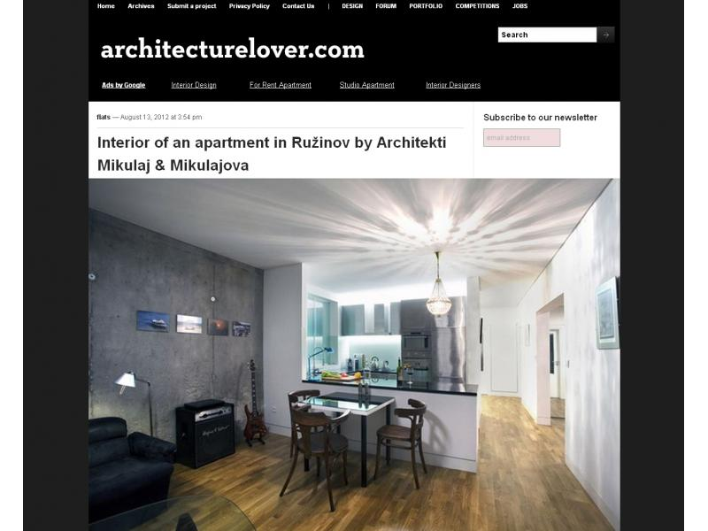Architecturelover.com 08/2012
