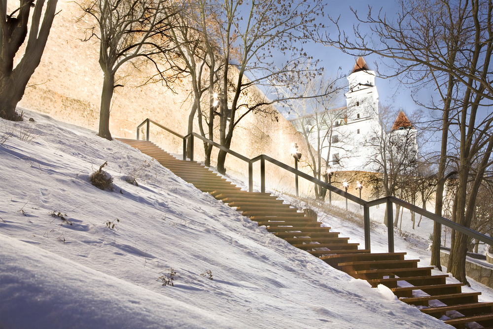 STAIRS TO THE CASTLE HILL