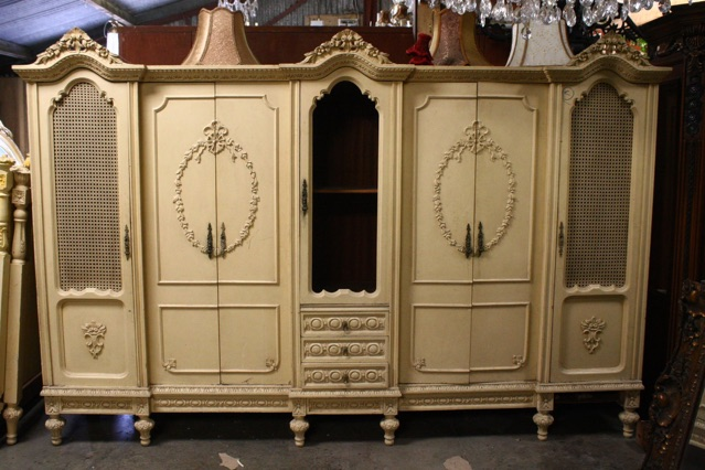 Antique dublin ireland renaissance wardrobe