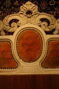 Renaissance Antiques Dublin Ireland  OLD WHITE BED