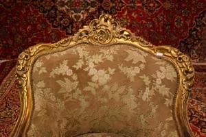 Antique gilt chair renaissance antique dublin ireland