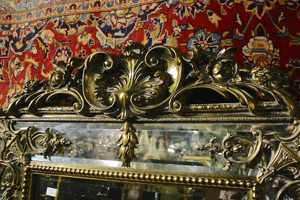 Renaissance Antique Dublin Ireland TALL FULL LENGHT DOUBLE FRAMED MIRROR