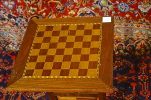 Renaissance Antique Dublin Ireland Tilt top chess table