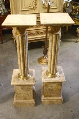 Renaissance Antique Dublin Ireland Renaissance Antique Dublin Ireland Green marble pillar