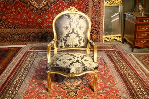 Renaissance Antiques Dublin Ireland New salon sets in red and blue