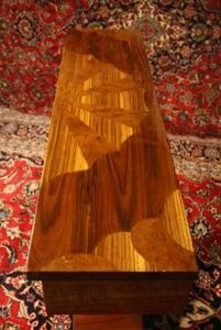 Renaissance Antiques Dublin Ireland V shaped art deco style table