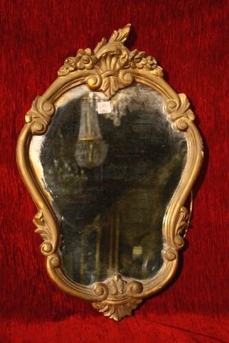 Renaissance Antiques Dublin Ireland  Old Wood framed mirror