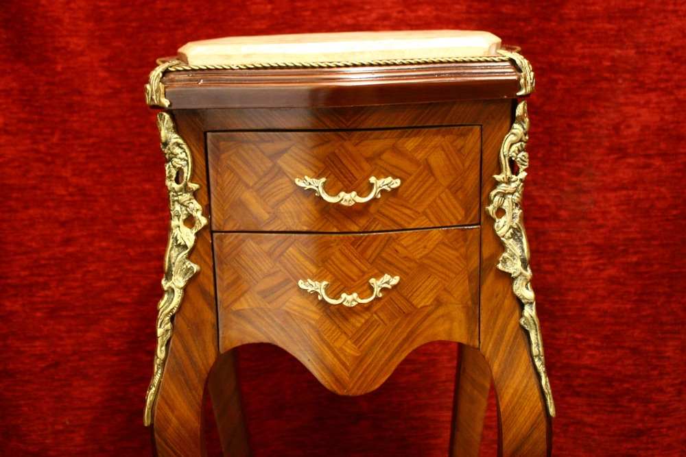 Renaissance Antique Dublin Ireland TWO DRAWER TALL OCCASIONAL TABLE