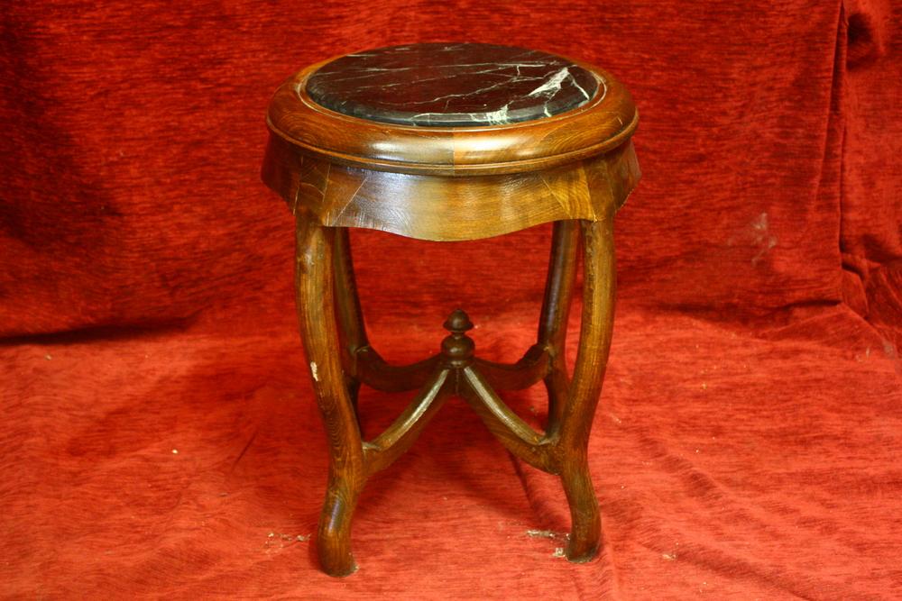 Renaissance Antique Dublin Ireland PLANT OR LAMP TABLE