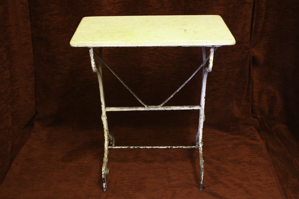 Renaissance Antique Dublin Ireland This is an old wrought Iron table