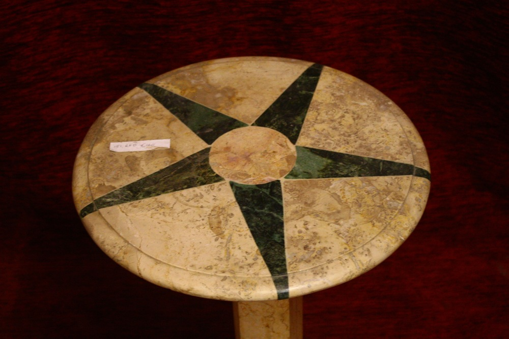 Renaissance Antique Dublin Ireland Marble table