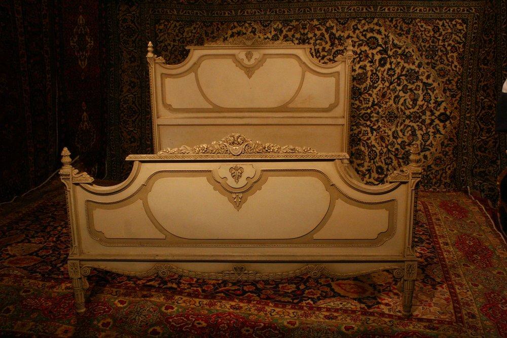 Renaissance Antiques Dublin Ireland Mahogony sleigh bed