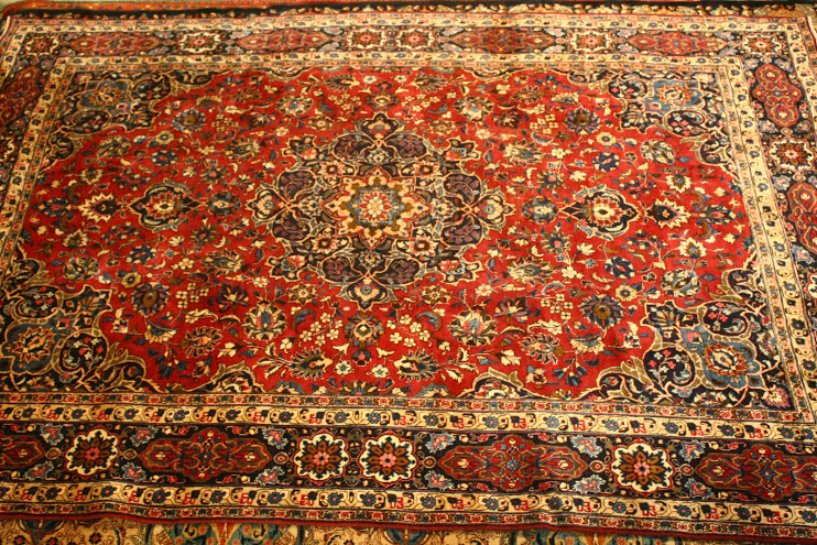 Mashad Hand Knoted Persian Carpet