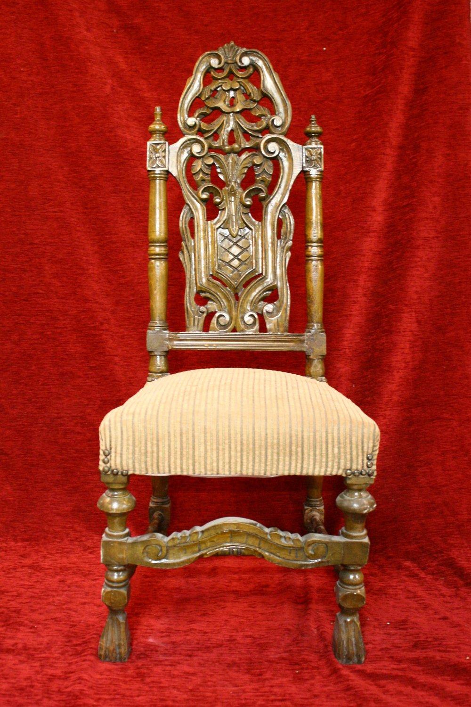 - Antique Carved Wood Chair — RENAISSANCE