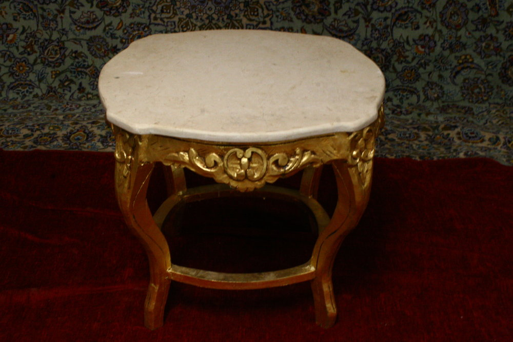 renaissance antique  dublin ireland marble topped table antiques
