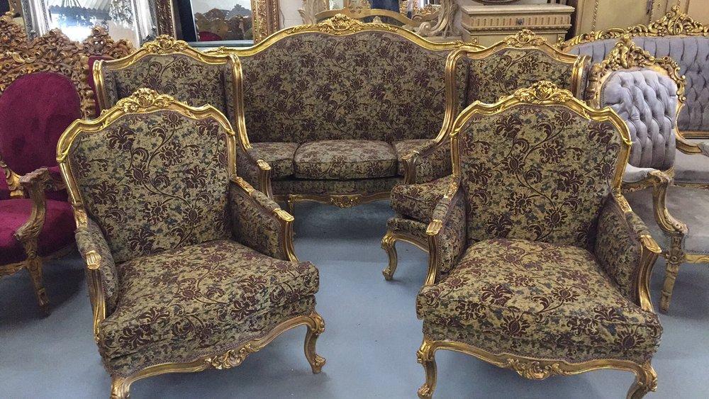 Renaissance Antique Furniture and Lighting Warehouse Dublin Ireland antiques salon
