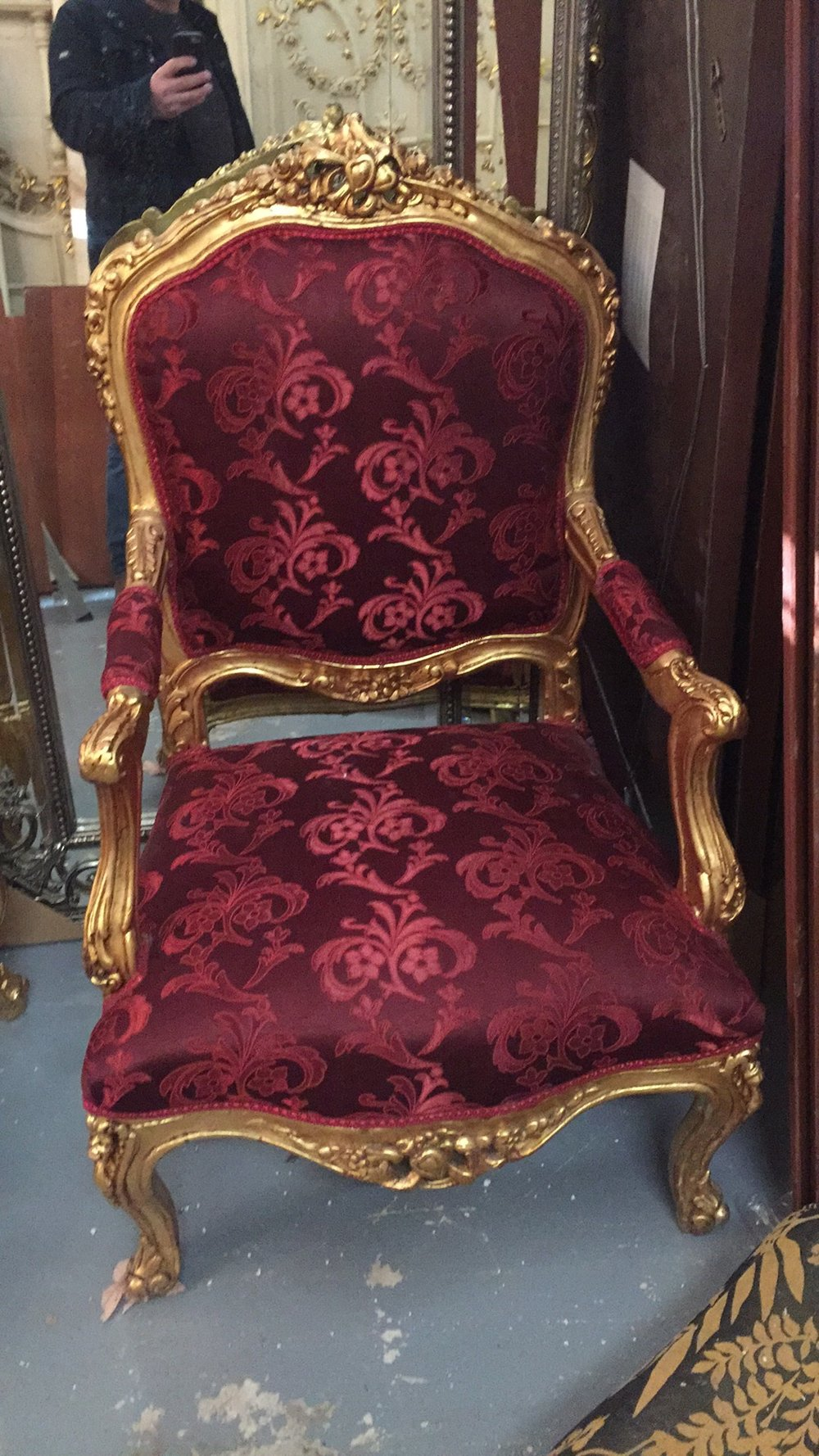 Renaissance Antique Furniture and Lighting Warehouse Dublin Ireland chairs