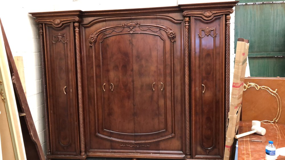 Mahogany Bedroom set — RENAISSANCE