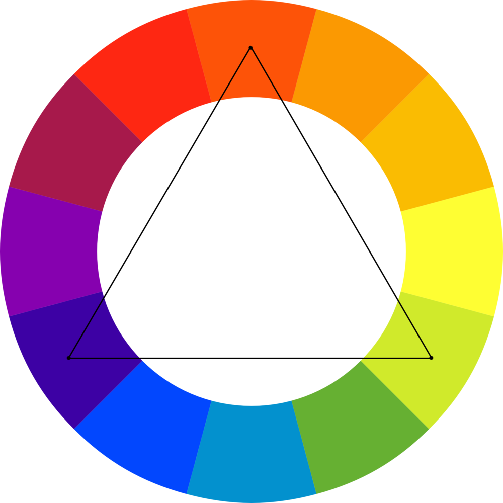 This Colour Scheme Is Created By Using Every Fourth On The Wheel A Vibrant Option Even When Shades Or Tints Of Colours