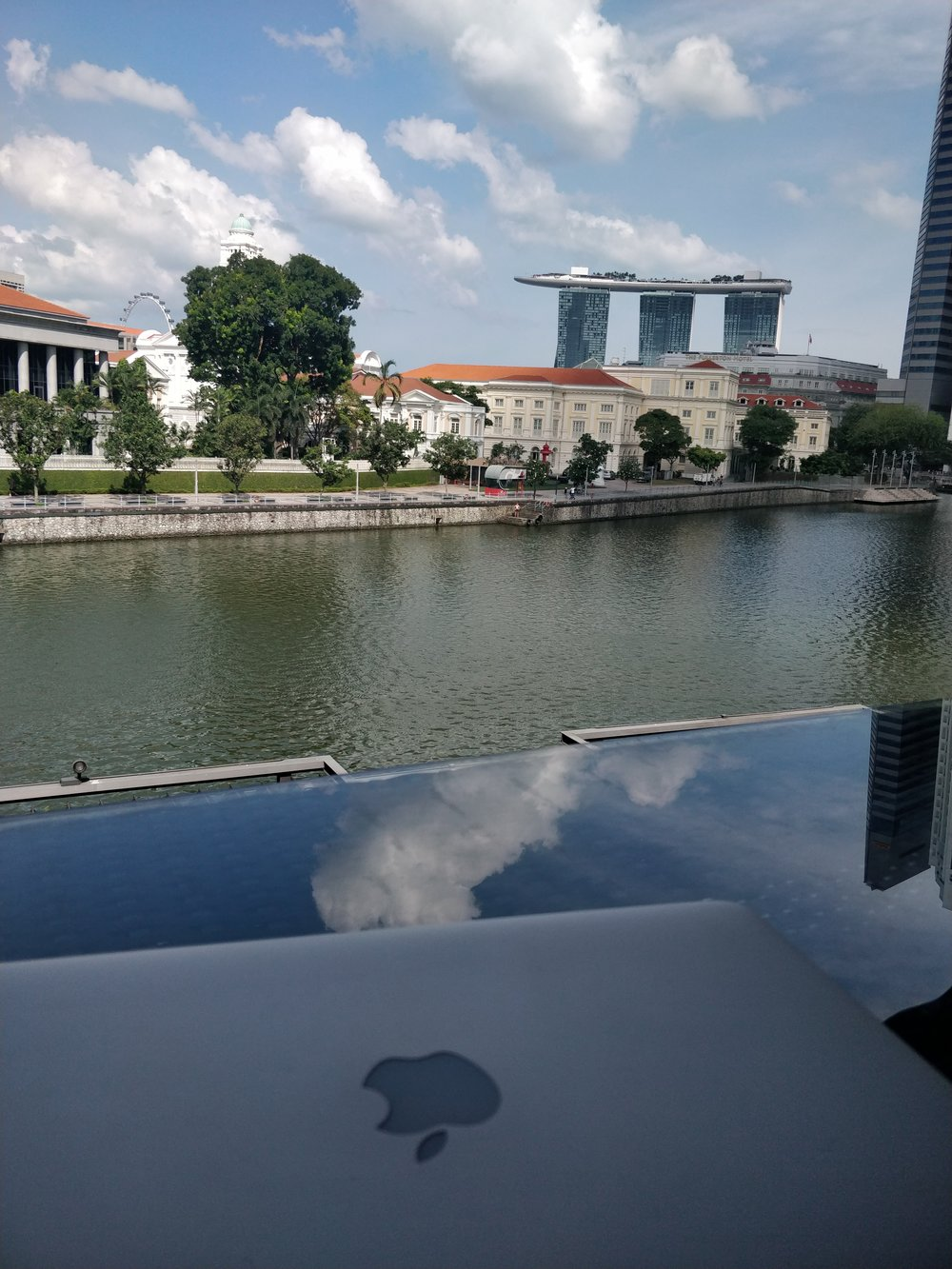 office with a view for the day