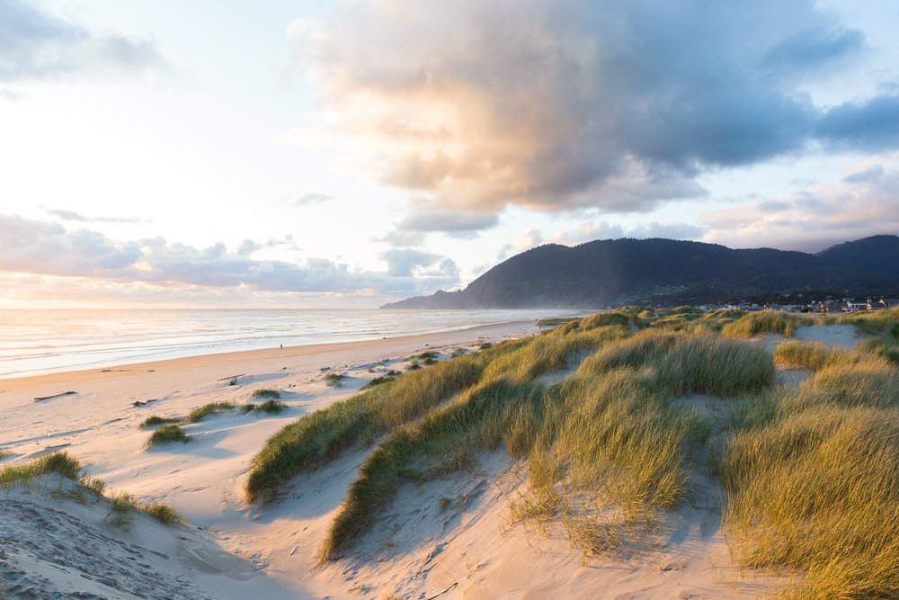 Pacific Coast Sunset, Nehalem, Oregon