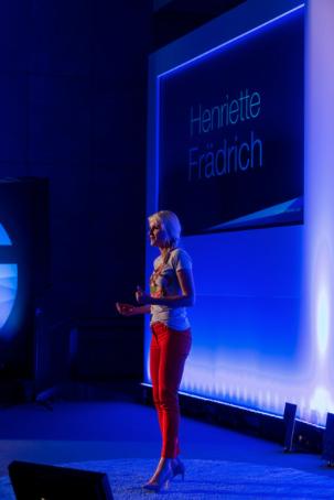 Henriette Frädrich Frankfurter Rednernacht