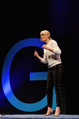 Henriette Frädrich Moderatorin