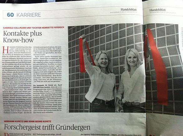 Pharmatching Henriette Frädrich Handelsblatt