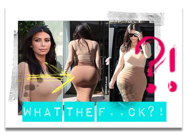 Kim Kardashian Arsch