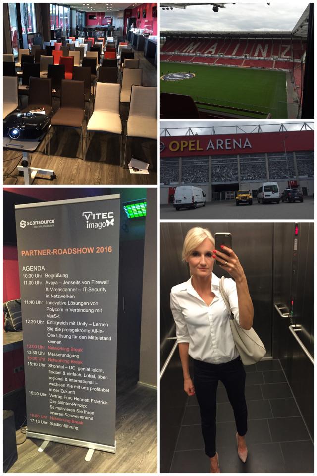 Vortrag Henriette Frädrich Opel Arena Mainz