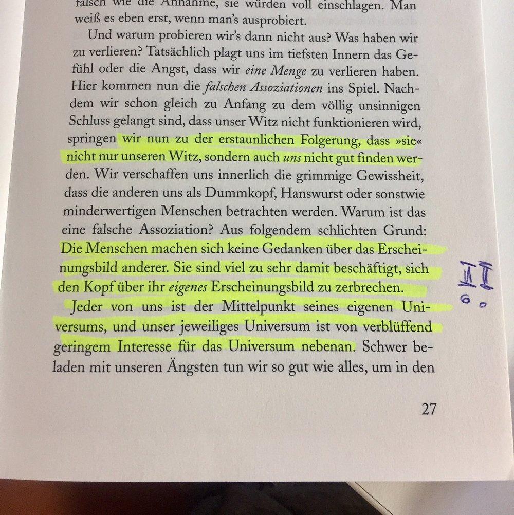 John Vorhaus, Handbuch Humor 1
