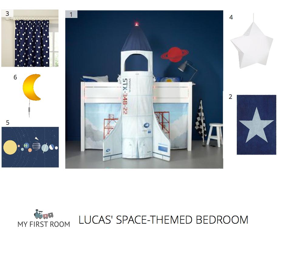 Space Themed Bedroom Space Themed Bedroom My First Room