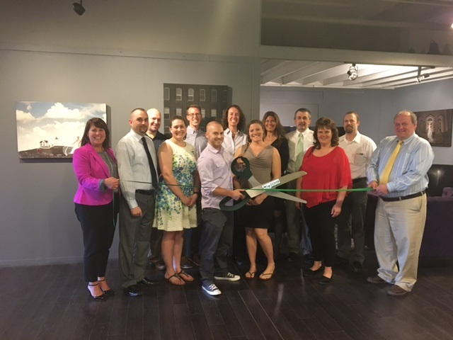 Members of the Greater Dover Chamber of Commerce welcomes Chris Keeley Photography with a traditional ribbon cutting ceremony. [Photo/Courtesy]
