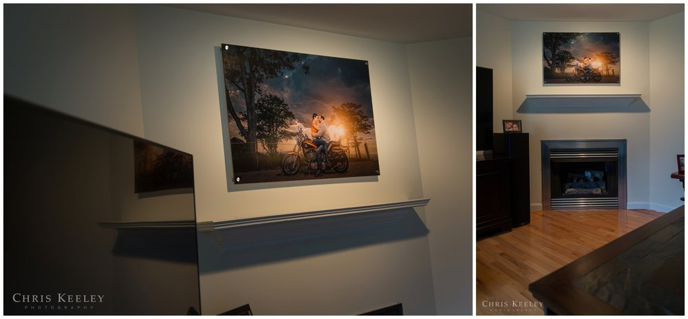 As a full service professional photography studio, Wall Art comes with complimentary local delivery & installation. Acrylic art comes with metal posts, which are actually anchored into your wall to ensure a secure installation that stands out off your wall.