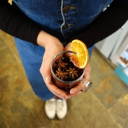 It's buy one get one free on Mulled Wine ALL DAY. Come and warm your cockles.