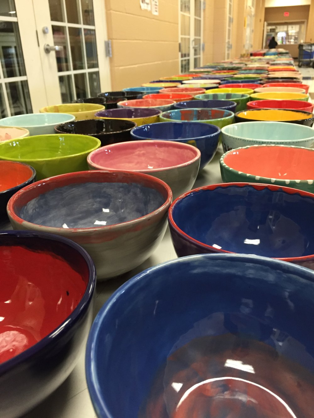 Join the Souper Supper on March 8th and stick around to paint your own bowl for the upcoming Empty Bowls event on April 12th.