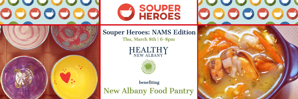 Souper Heroes: NAMS Edition:  Details Here