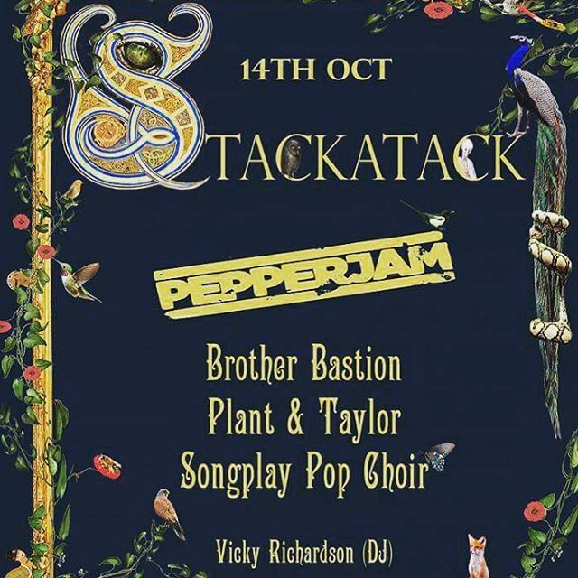 You heard it here first ladies and gents... make sure to get to the next edition of Stackattack! #poster #design #graphicdesigner #stack #attack #bands #music #nightlife #ska #roots #rocksteady #reggae #folk #gig #event #nature #mythical #floral #vibes #vocalist #rhythm #guitar #drums #horns #bass #plug #promotion #advertising