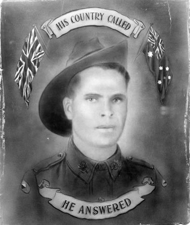 ANF & UJ on portrait of Aboriginal serviceman, Private Frederick Beale..jpg