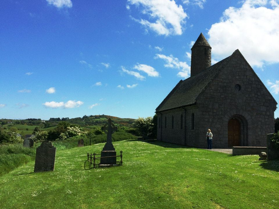 Saint Patrick's Church, Saul, Northern Ireland. First church Patrick established.