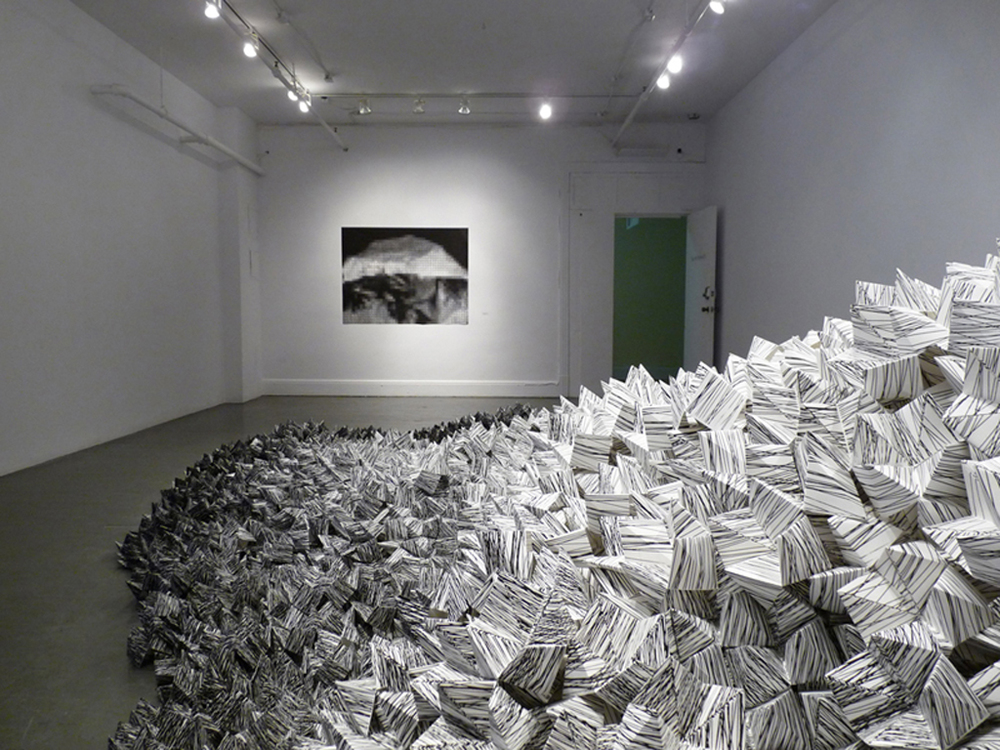 La débâcle, Galerie Les territoires, Montréal, QC, Canada, 2011