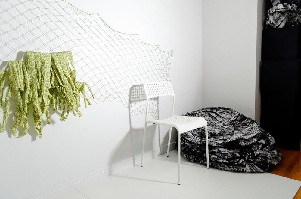 Filet pour le mur de papier (végétal)