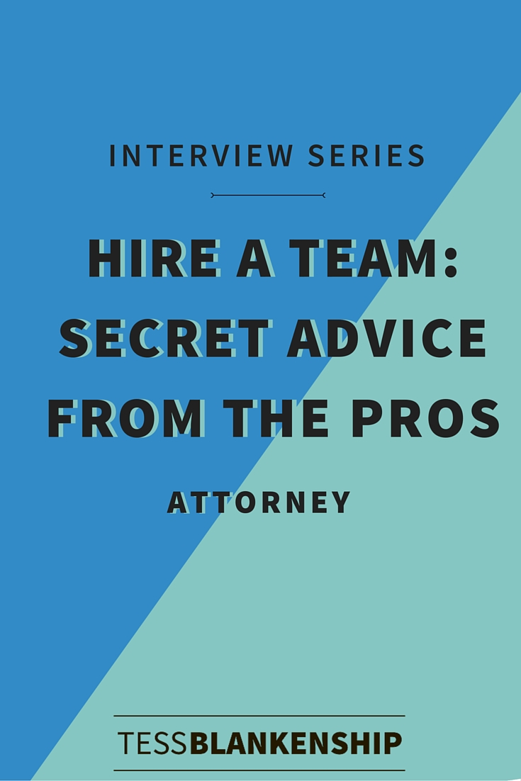 Hiring an attorney as an online entrepreneur? Here's what you need to know.