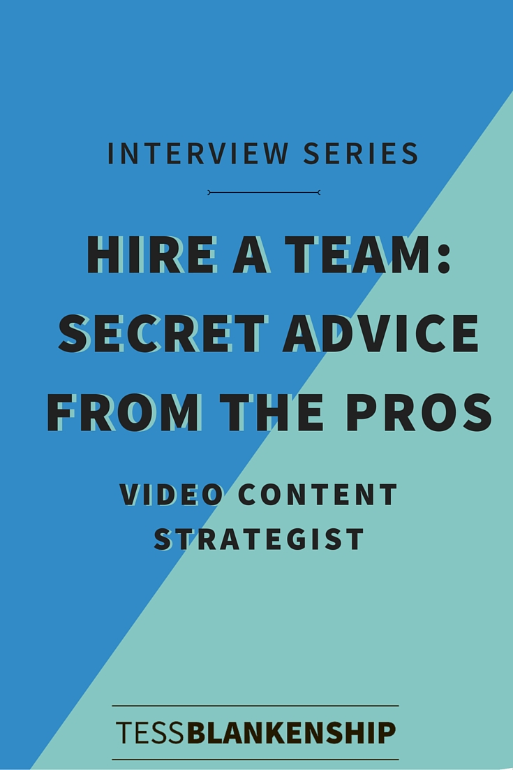 Why you need a video content strategist and how to hire one as an online team.
