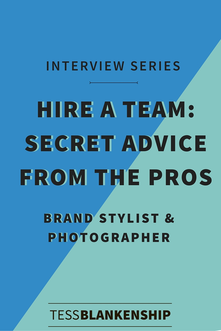 What you need to know before hiring a photographer for branded photos.