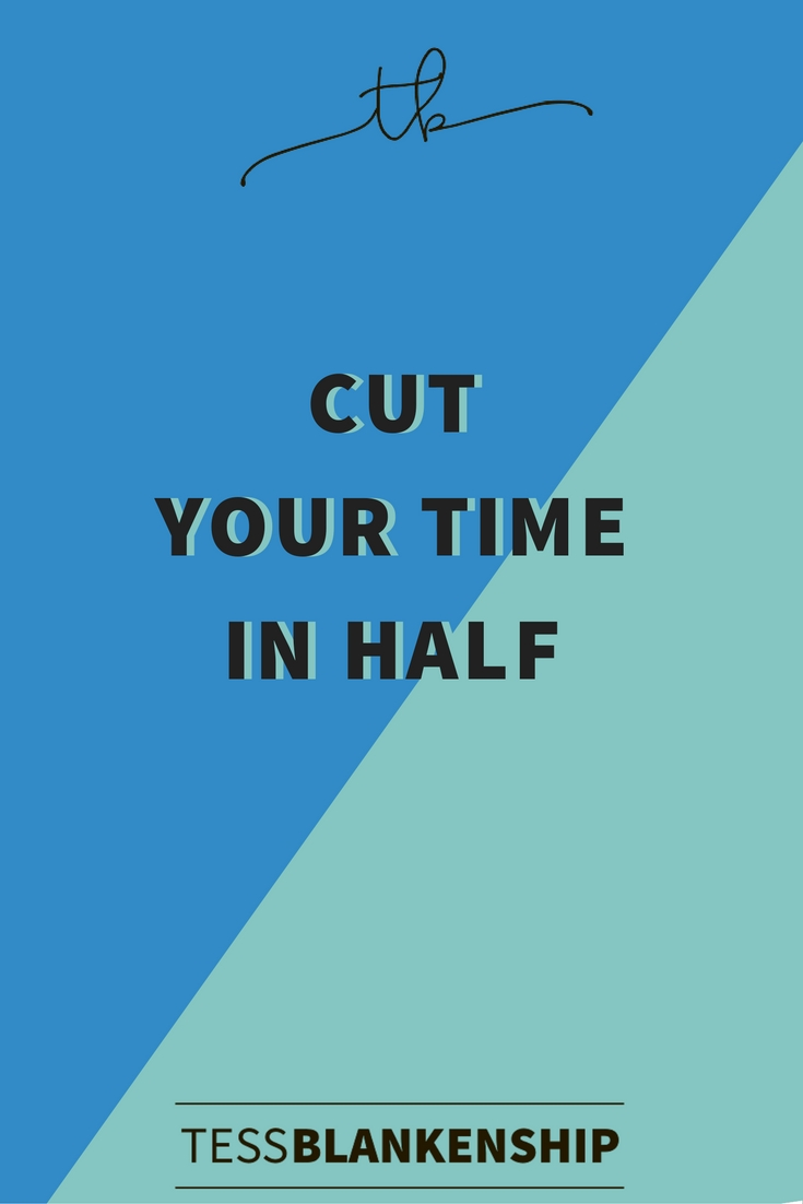 Would you love to cut your work time in half, double your free time, and still make money?