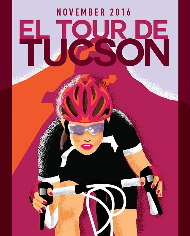 good luck to all the El Tour de Tucson cyclists riding today. #elTourdeTucson